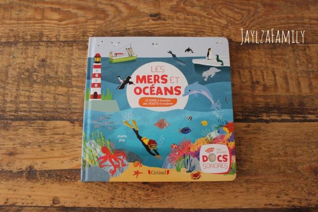 Les mers et océans Livre sonore Gründ