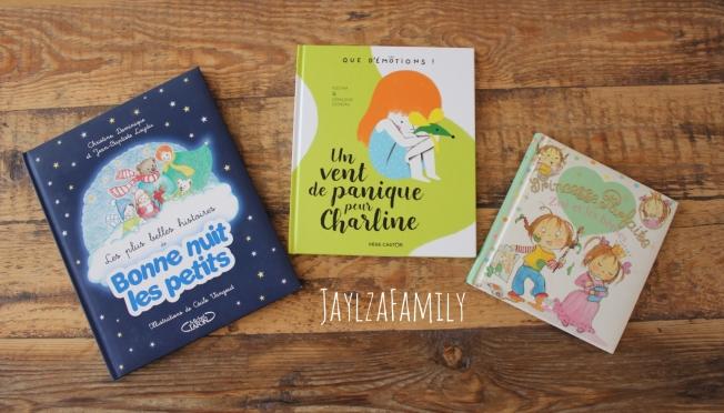 Bonne nuit les petits Michel Lafon Un vent de panique pour Charline Flammarion Jeunesse Père Castor Princesse Parfaite Zoé Fleurus