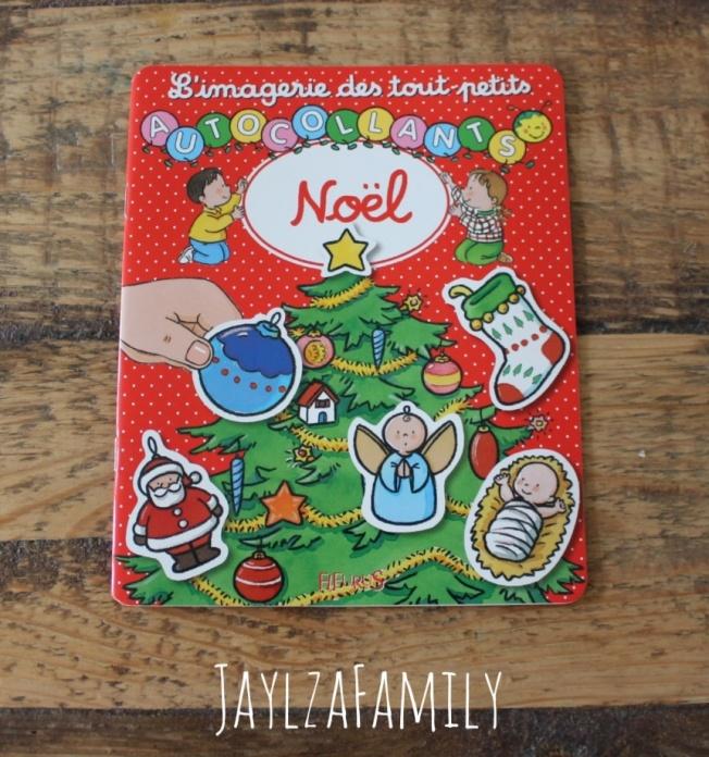 Autocollants stickers gommettes Noël Hemma Auzou Fleurus