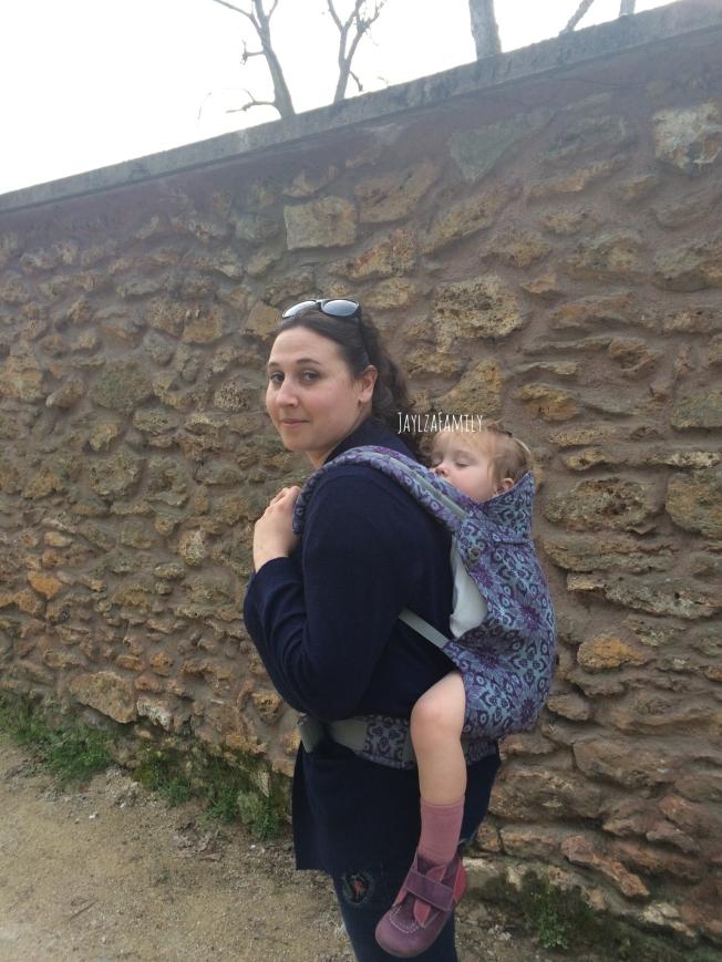 Portage physiologique porte-bébé Ling Ling d'Amour LLA Preschool