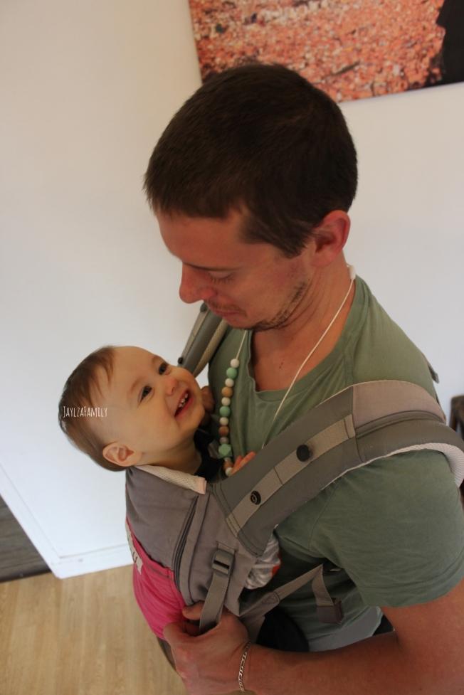Collier de portage et d'allaitement Le monde d'Anna et Mattéo
