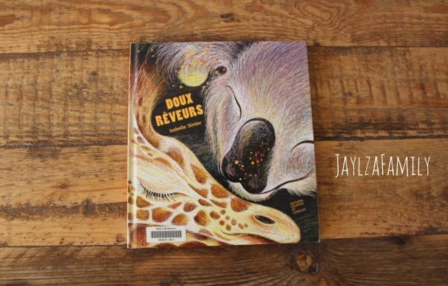 """Livre jeunesse """"Doux rêveurs"""" d'Isabelle Simler, aux Editions Courtes et Longues."""