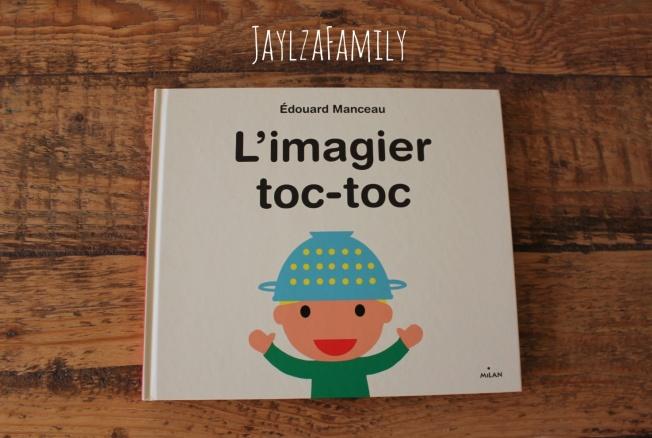 """Livre jeunesse """"L'imagier toc-toc"""" d'Edouard Manceau, aux Editions Milan."""