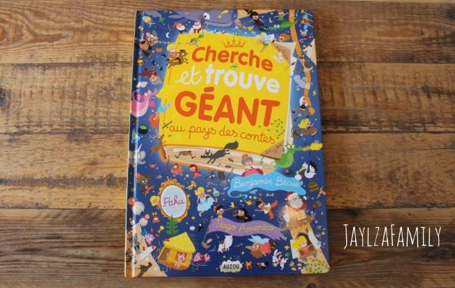 """""""Cherche et trouve GÉANT au pays des contes"""" de Benjamin Bécue, Tiago Americo et Paku, aux Éditions Auzou"""