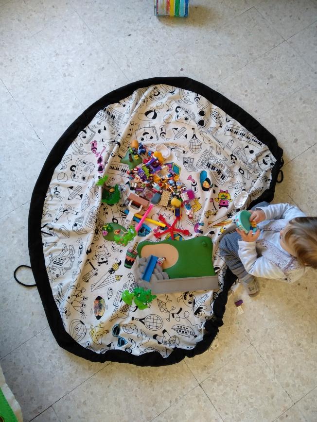 Playmobil sac rangement play and go OMY