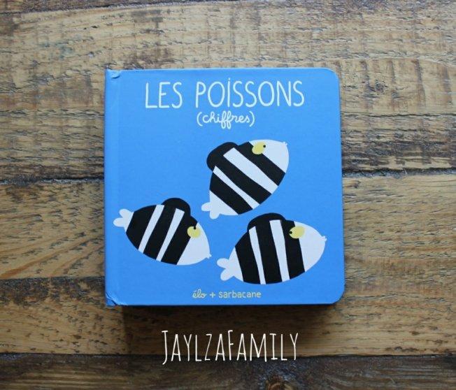 Les poissons (chiffres) Bonjour Abeille Editions Sarbacane