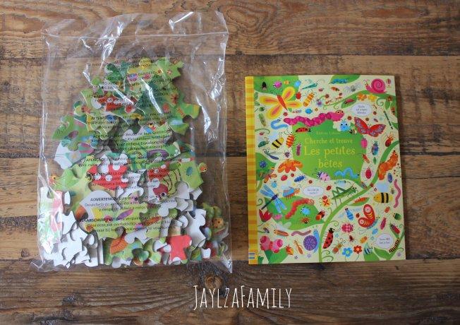 Les Petites Bêtes Livre et Puzzle Editions Usborne