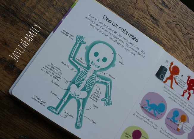 Mon premier livre sur le corps humain Editions Usborne