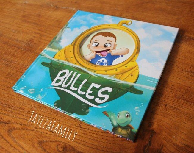 Livre personnalisé Mumablue Bulles