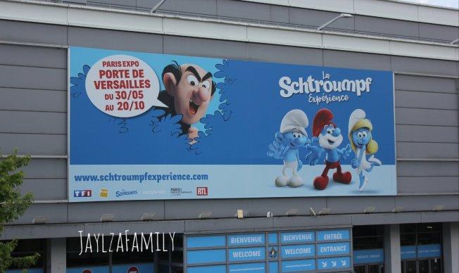 La Schtroumpf Expérience Parc des Expositions Paris porte de Versailles
