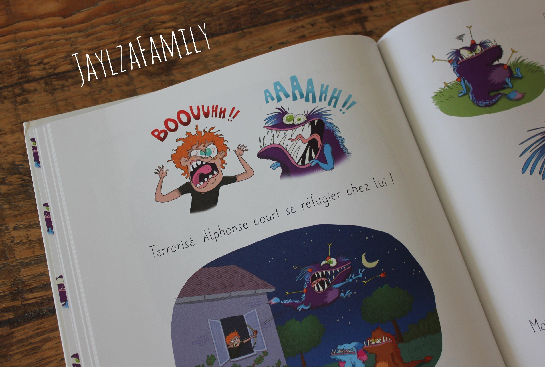 Le monstre qui n'aimait pas faire peur Séverine de la Croix et Pauline Roland, Editions Splash!