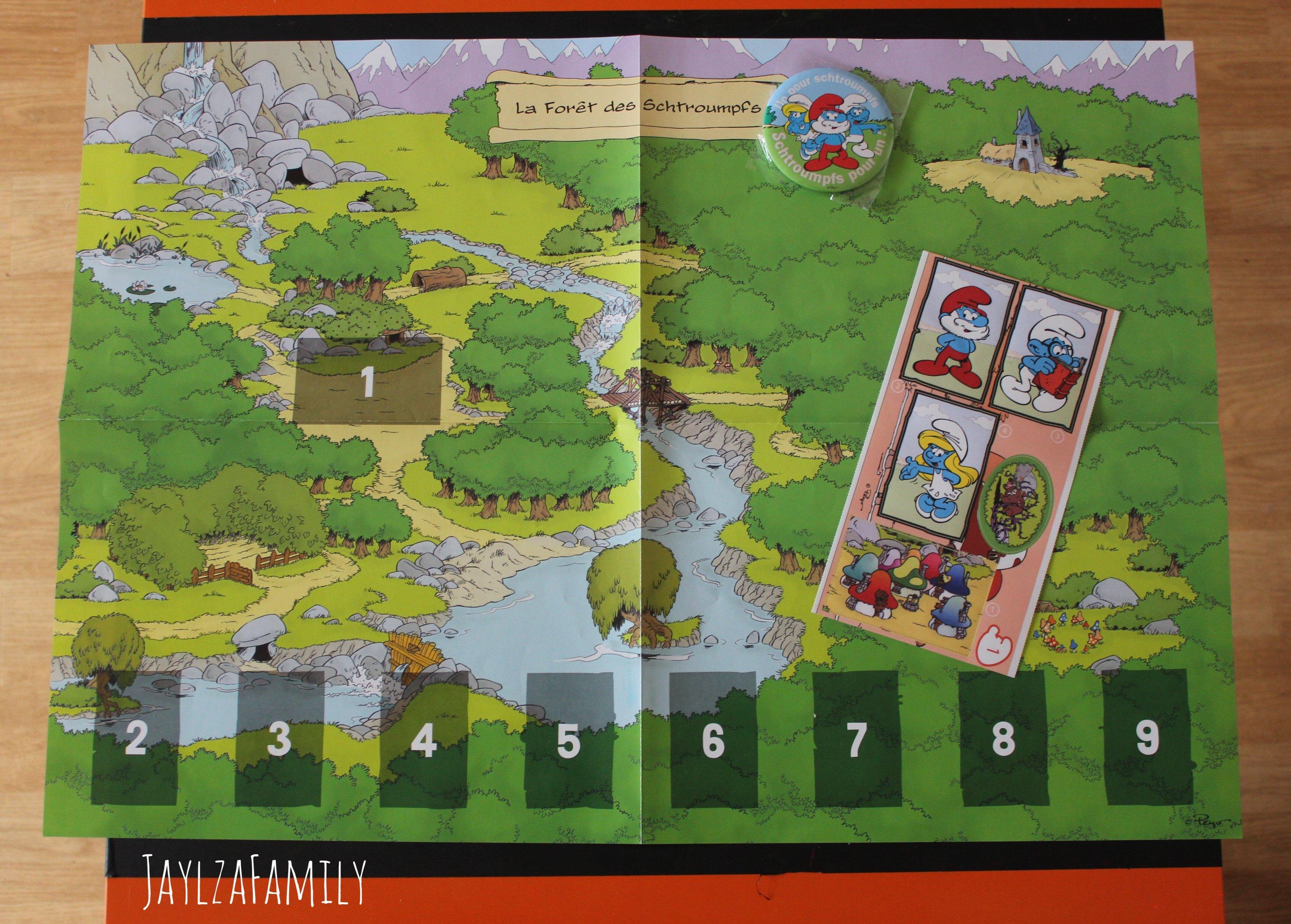 Aventure interactive Epopia jeu Schtroumpfs