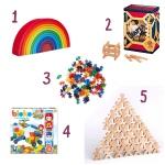 Qu'est-ce qu'on offre aux enfants? Le récap' des idées cadeaux : les Jeux deConstruction.